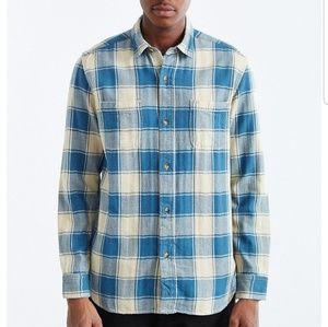 Urban Outfitters Koto Washed Buffalo Plaid Shirt